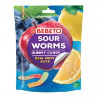 پاستیل ببتو مدل مار با طعم آبمیوه طبیعی پرتقالی 60 گرم Bebeto