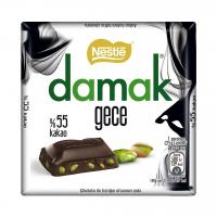 شکلات تلخ پسته ای داماک نستله Nestle Damak