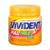 آدامس میکس میوه ای ویویدنت Vivident Full Fruit Mix
