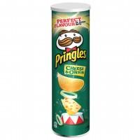 چیپس پرینگلز پنیر و پیاز 165 گرم