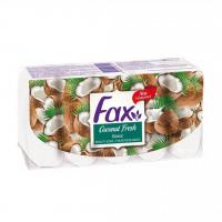 صابون فکس مدل Fax Coconut Fresh بسته 5 عددی ساخت مالزی