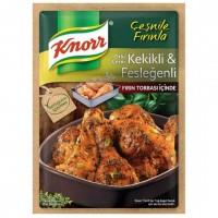 چاشنی ران مرغ کنور حاوی آویشن و ریحان 32 گرم Kekikli Feslegenli Knorr
