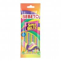پاستیل شکری ببتو نواری رنگین کمان Bebeto Super Belts