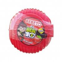 آدامس متری ببتو با طرح بن تن با طعم توت فرنگی Bebeto Long Bubble Gum
