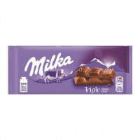 شکلات تریپل شوکو کاکائو 90 گرم میلکا Milka Triple