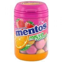 آبنبات جویدنی منتوس با طعم میکس میوه وزن 100 گرم