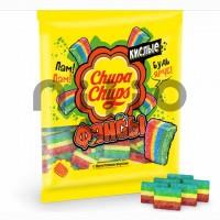 پاستیل نواری ترش و شکری رنگین کمان چوپاچوپس 150 گرم ChupaChups