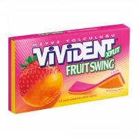 آدامس با طعم توت فرنگی و پرتقال ویویدنت Vivident Fruit Swing