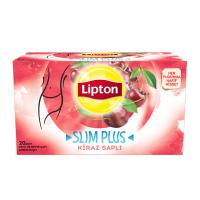 دمنوش لاغری لیپتون با طعم گیلاس 20 عددی  Lipton Kiraz Sapli