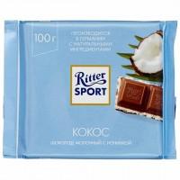 شکلات ریتر اسپرت نارگیلی 100 گرمی Ritter Sport