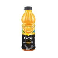 آبمیوه پرتقال کاپی حاوی تکه های میوه 500 میلی لیتری Cappy