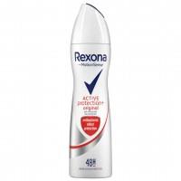 اسپری ضد تعریق زنانه رکسونا مدل پروتکشن اکتیو Rexona Protection Active