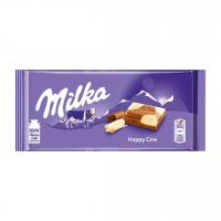 شکلات سفید و شیری 100 گرمی میلکا Milka Happy Cows