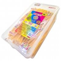 پاستیل لوله ای با طعم مخلوط میوه ها یک و نیم کیلویی ببتو Bebeto Fruit Mix