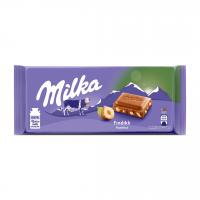 شکلات با مغز فندق 80 گرمی میلکا Milka