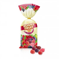 پاستیل شکری با طعم میوه های قرمز روشن 200 گرمی Roshen Berry Mix