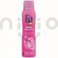 اسپری ضد تعریق زنانه فا 150 میلی لیتر مدل پینک Fa Pink Passion