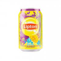 چای سرد با طعم انبه و میوه های استوایی لیپتون Lipton