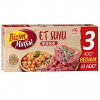 عصاره گوشت بیزیم موتفاک12 عددی Bizim Mutfak