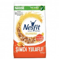 کورن فلکس رژیمی با طعم عسل و بادام نسفیت نستله 400 گرم Nestle Nesfit
