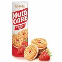 بیسکوئیت کرم دار توت فرنگی روشن Roshen Multi Cake
