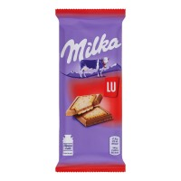 شکلات میلکا روسی با بیسکوئیت ال یو 87 گرمی Milka LU