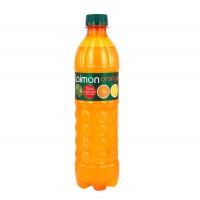 نوشیدنی گازدار پرتقالی روسی لایمون 0.5 لیتری