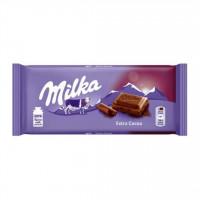 شکلات اکسترا کاکائویی 100 گرمی میلکا Milka Extra Cocoa