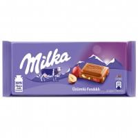 شکلات با مغز فندق و انگور 80 گرمی میلکا Milka Raisin And Nut