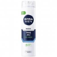 ژل اصلاح مردانه نیوآ مدل Nivea Sensitive حجم 200 میلی لیتر