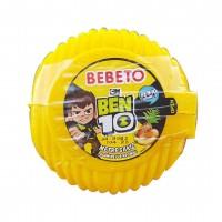 آدامس متری ببتو با طرح بن تن با طعم میوه های استوایی Bebeto Long Bubble Gum