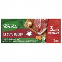 عصاره آب گوشت کنور 12 عددی Knorr Et Suyu Bulyon