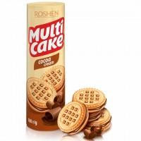 بیسکوئیت کرم دار کاکائویی روشن Roshen Multi Cake