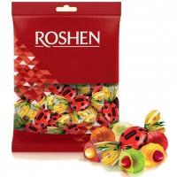 تافی میوه ای مدل کفشدوزک روشن بسته یک کیلویی Roshen