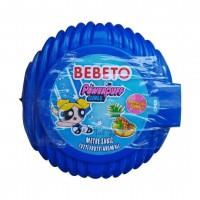 آدامس متری ببتو با طرح دختران پاور پف با طعم مخلوط میوه ها Bebeto Long Bubble Gum