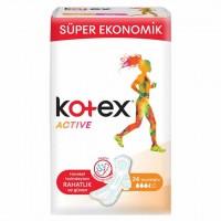 نوار بهداشتی کوتکس Kotex مدل اکتیو نرمال 24 عددی
