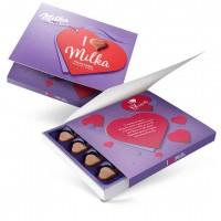 شکلات کادوئی میلکا 110 گرمی I Love Milka