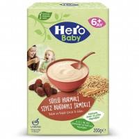 سرلاک هیرو بیبی با طعم خرما و گندم و شیر وزن 200 گرم Hero Baby