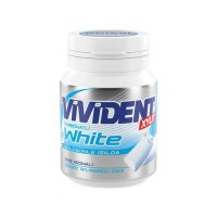 آدامس ویویدنت گازدار با طعم نعنا 67 گرم Vivident White Mint Flavored Carbonated Gum 67 Gr