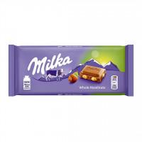 شکلات با مغز فندق 100 گرمی میلکا آلمانی Milka