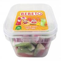 پاستیل شکری مدل هندوانه ببتو 150 گرم Bebeto Watermelon