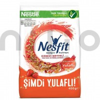 کورن فلکس رژیمی با طعم میوه های قرمز نسفیت نستله 400 گرم Nestle Nesfit