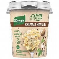 ماکارونی آماده خامه ای همراه قارچ کنور Knorr Kremali Mantarli Makarna