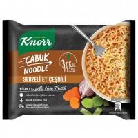 نودل آب گوشت و سبزیجات کنور Knorr