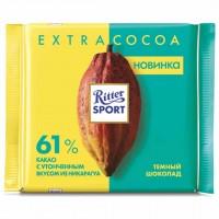 شکلات ریتر اسپرت 61% شکلات تلخ 100 گرمی Ritter Sport