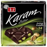 شکلات تلخ اتی کارام پستهای 54% Eti Karam