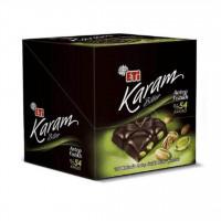 شکلات تلخ اتی کارام پستهای 54% بسته 6 عددی
