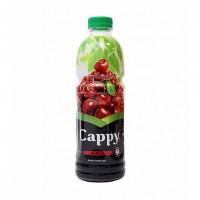 آبمیوه آلبالو کاپی حاوی تکه های میوه 1 لیتری Cappy