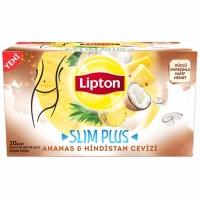 دمنوش لاغری لیپتون با طعم آناناس و نارگیل 20 عددی  Lipton Ananas Ve Hindistancevizi