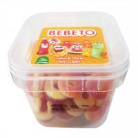 پاستیل شکری مدل حلقه ای ببتو 150 گرم Bebeto Peach Rings